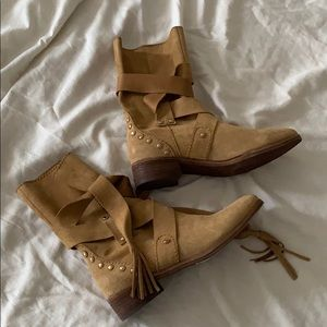 New See by Chloe Suede Boots size 36 / 6